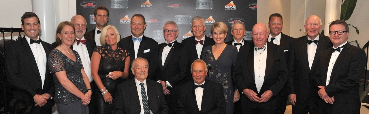 North Harbour Business Hall of Fame Laureates - 2016 Dinner